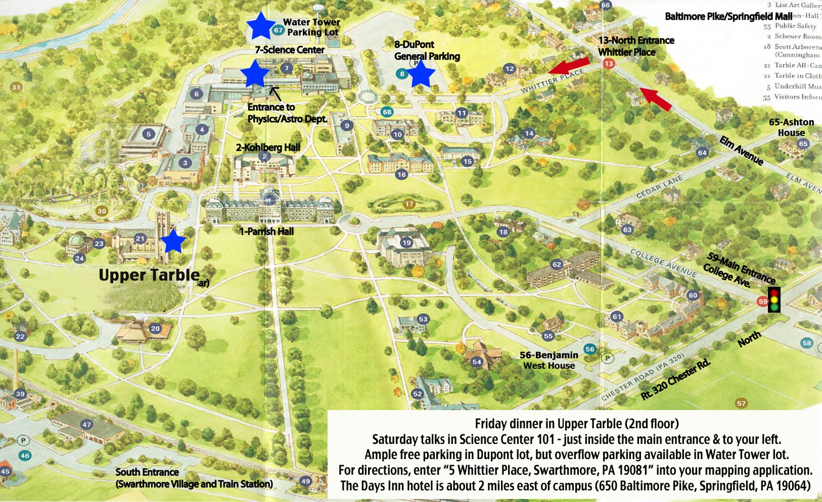 Swarthmore Campus Map KNAC: Symposium 2014 at Swarthmore College